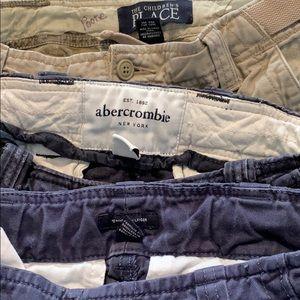 Boys cargo shorts; Lot of 5